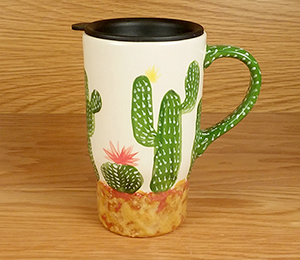 Anchorage Cactus Travel Mug