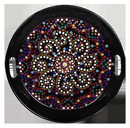 Anchorage Mosaic Mandala Tray